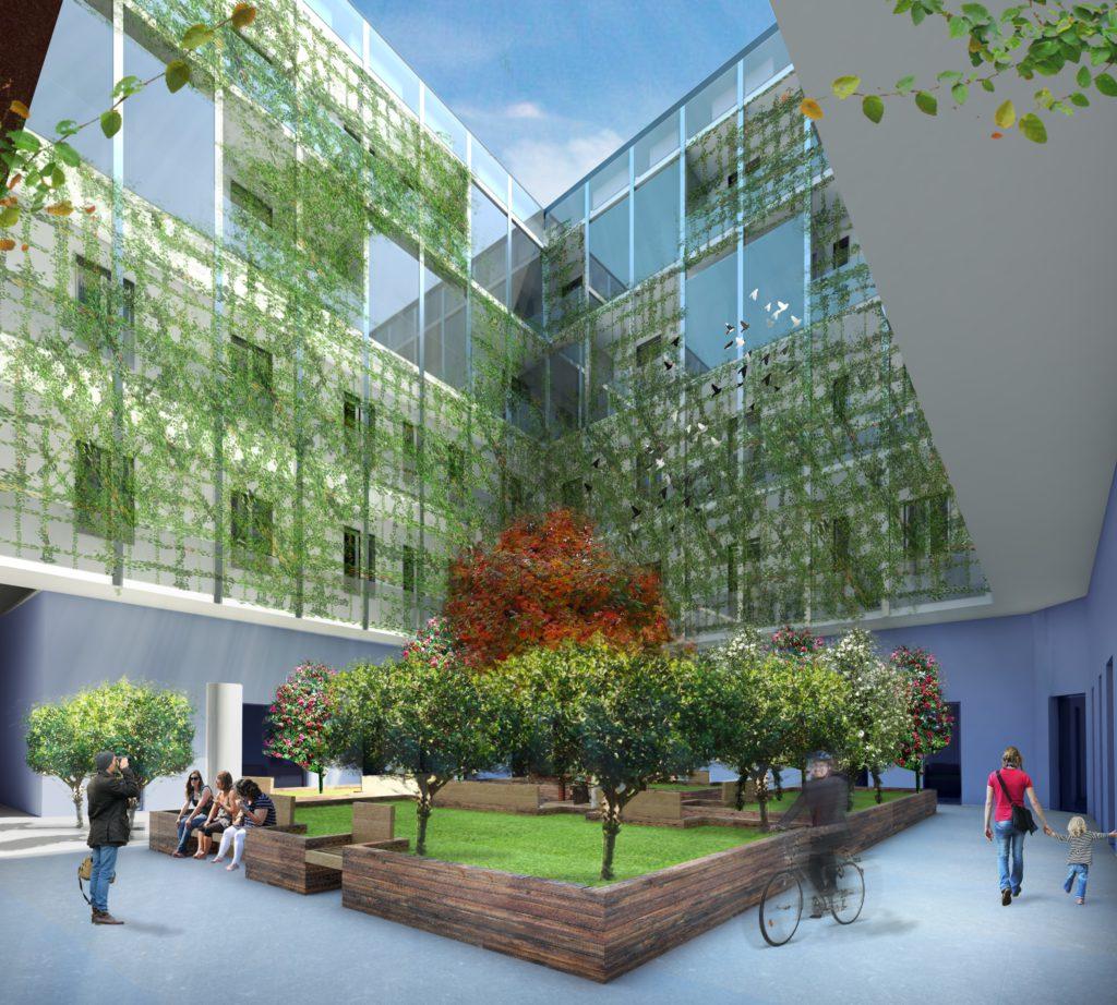L'edificio di corso XXII marzo a Milano. A breve partiranno i lavori di riqualificazione di un edificio con la formula del cohousing,