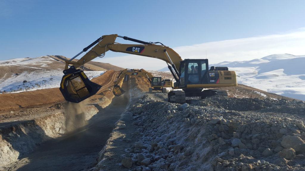 01 MB-S18 - Caterpillar - Turkey - Caucasus Pipeline Project