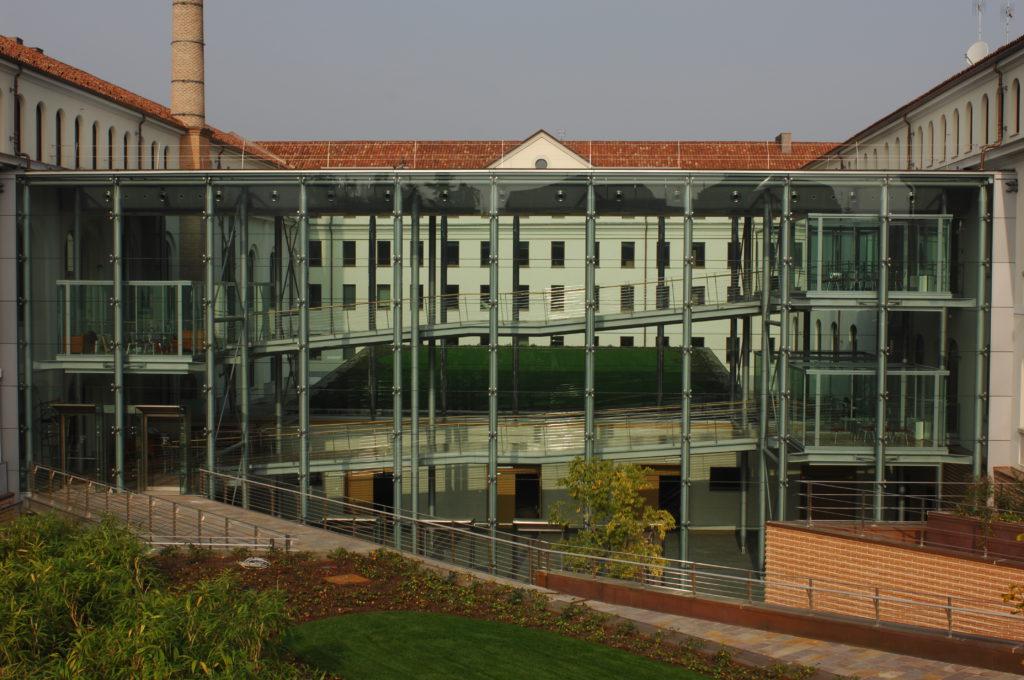 Ristrutturazione di una ex filanda – nuovo centro ricerca Soremartec.