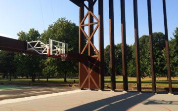 Da Expo 2015 a copertura per un campo da basket